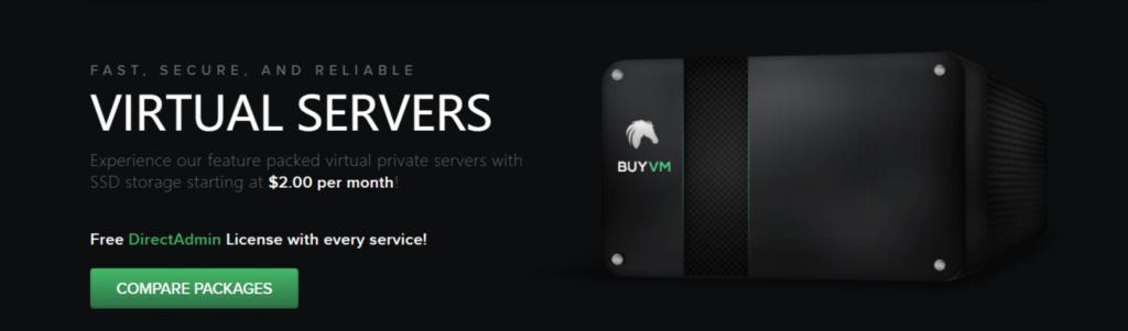 buyvm优惠无限流量1G宽带$2起步-WordPress极简博客