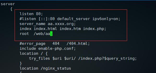 nginx服务器绑定域名和设置根目录的方法(无宝塔)-WordPress极简博客