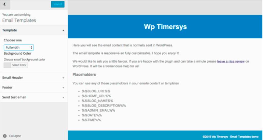Email Templates 美化 WordPress 发出的邮件-WordPress极简博客